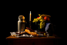 A Classic Still Life In The Dutch Style