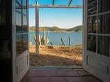 Open door to paradise