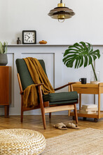 Interior Design Of Stylish Liv...