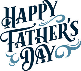 Happy Fathers Day Custom Text Banner