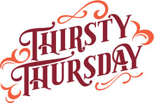 Thirsty Thursday Bar Specials ...