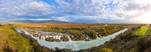 180 Degree Panorama Of A River...