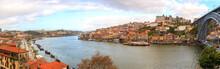 Porto, Portugal Panorama: Dour...