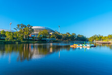 Adelaide Oval Viewed Behind To...