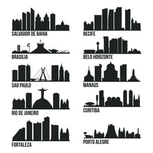 Brazil Cities Most Famous Skyl...