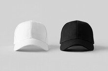 White And Black Baseball Caps ...