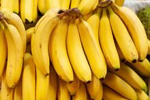 Banana Stall At Market Stall