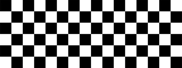 Checkered flag. Racing flag. Race. Vector