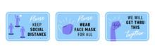 Keep Social Distance Signage I...