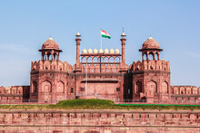 The Indian Flag Flies On Top O...