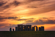 Stonehenge At Solstice