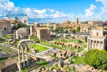 Beautiful View Of Roman Forum ...
