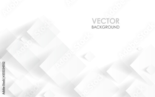 Fotografia 白い四角形のデザイン