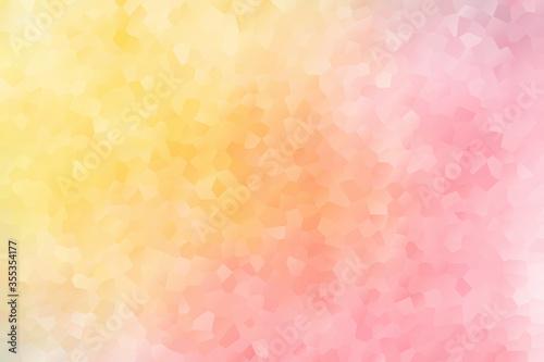 Canvastavla 背景 抽象的なグラデーションタイル 黄色とピンク