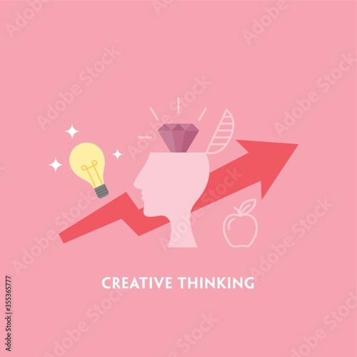 Cuadros en Lienzo creative thinking