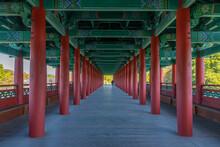 Arcade Inside Of The Woljeongg...