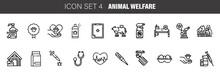 Pet, Animal Welfare Outline Ic...