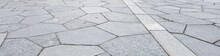 Pentagon Shape Tiles Street Pa...