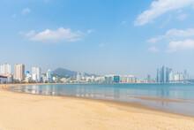 Gwangalli Beach In Busan, Repu...