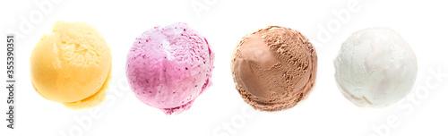 Fotomural Ice Cream Set