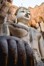 Wat Si Chum Im Sukhotai Historical Park In Thailand