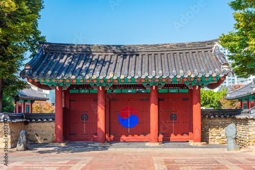 Tablou Canvas Hyanggyo confucian school at Daegu, Republic of Korea