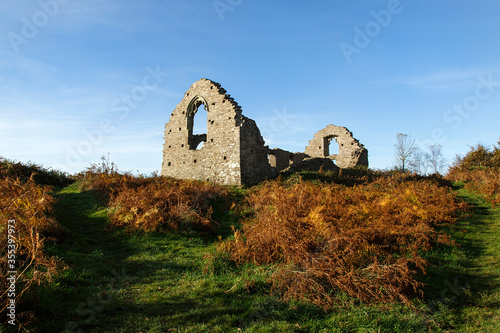Margam Abbey wa a Cistercian monastery located in the village of Margam, a suburb of modern Port Talbot Canvas Print