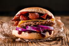 Unhealthy Homemade Barbecue Ba...
