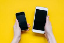 Old And New Smartphone Compari...