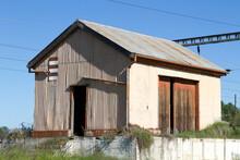 Abandoned Derelict Corrugated ...