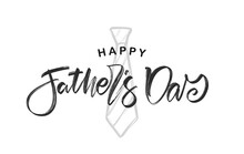 Hand Lettering Of Happy Father...