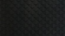 3d Rendered Black Acoustic Foa...