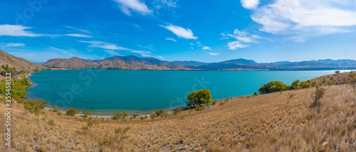 Lake aviemore in New Zealand Wallpaper Mural