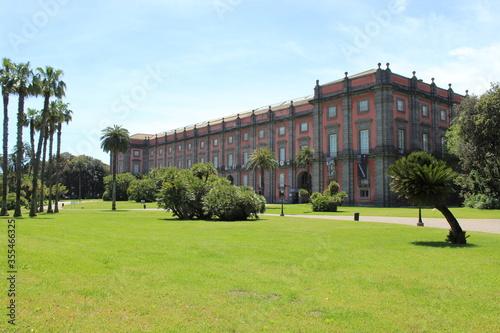 Valokuvatapetti Real bosco e Museo di Capodimonte , Napoli