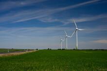 Energy - Three Wind Turbines O...