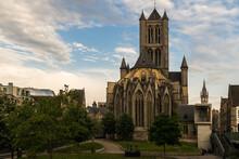 Saint Nicholas Church In Ghent