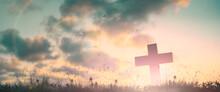 Silhouette Jesus Christ Crucif...