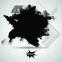 Grunge Design Element . Grungy...