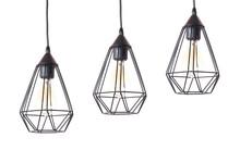 Set Of Modern Hanging Lamps On...