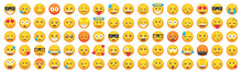 Big Set Of Emoticon Smile Icon...