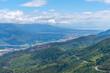 Aerial view of Golden Bay region in New Zealand