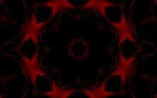 3d Render. Kaleidoscope. Abstr...