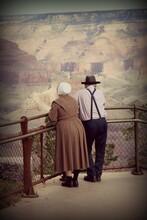 Grand Canyon Amish Couple