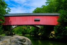 Indiana Historic Covered Bridge