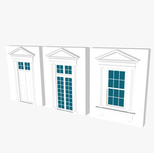 Greek Architecture, Windows And Doors