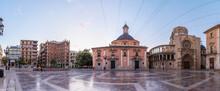 View Of Empty Plaza De La Virg...