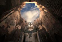 Buddha Statue In Sukhothai His...