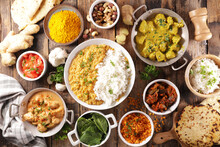 Assorted Indian Food Cuisine- ...