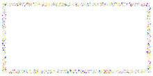 Rainbow Random Spot Confetti