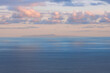 Soft Light Blue Hour Over Santa Maria as Seen from Sao Miguel, Azores Islands